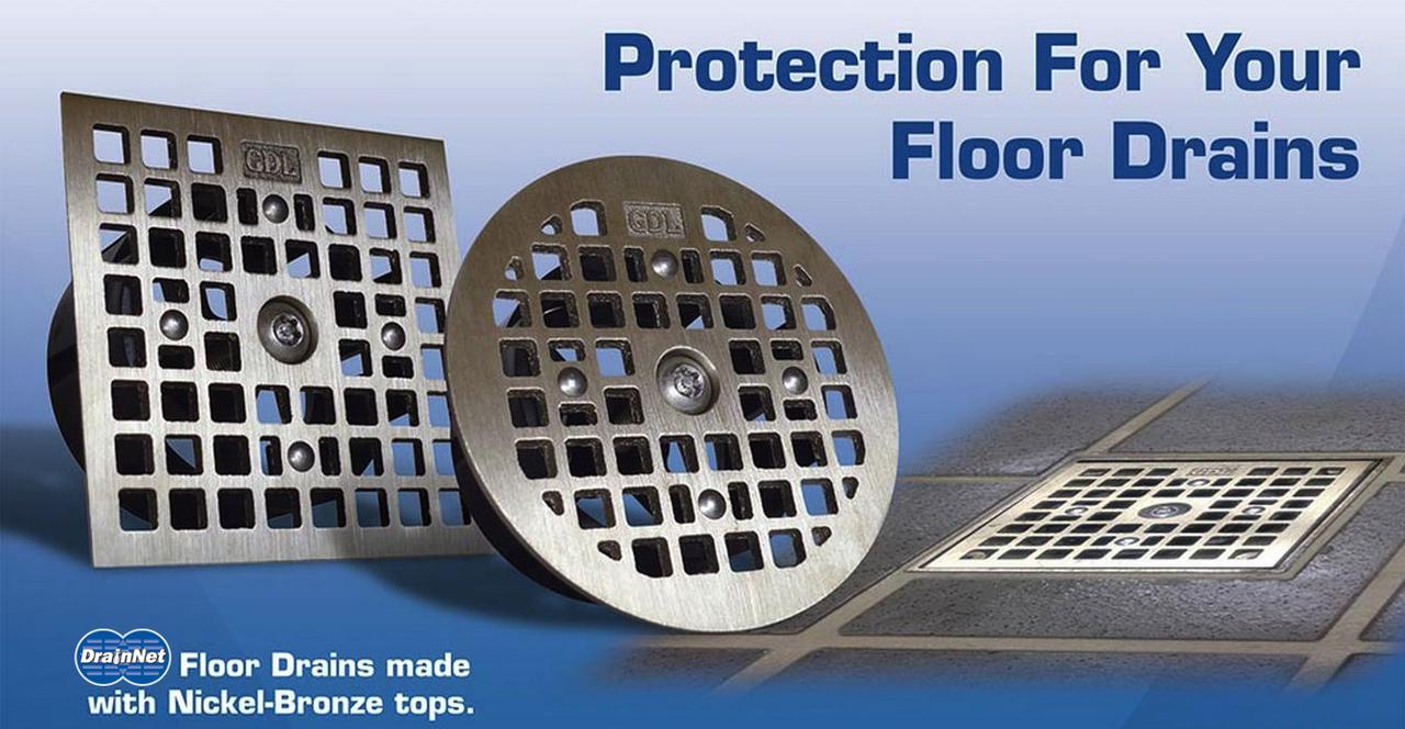 Floor Drain-Lock Square - JR Smith Style
