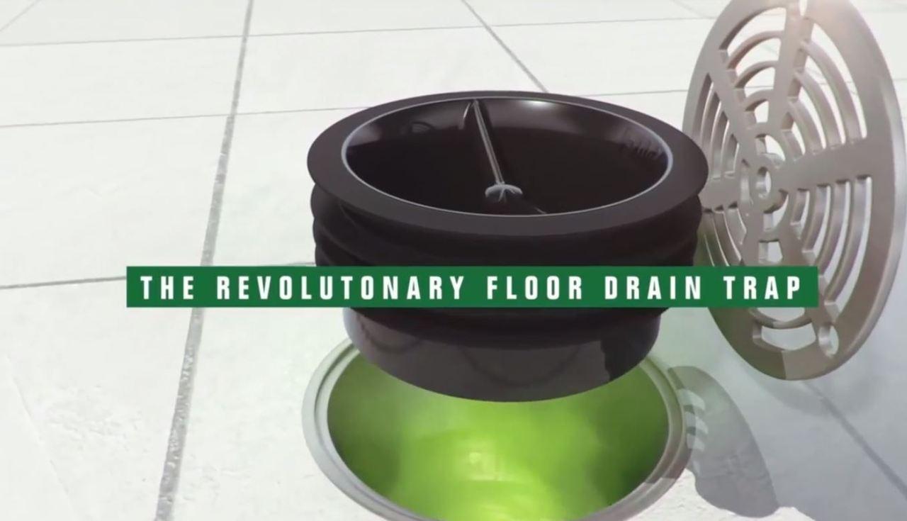 GREEN DRAIN - Inline Floor Drain Trap - 3\
