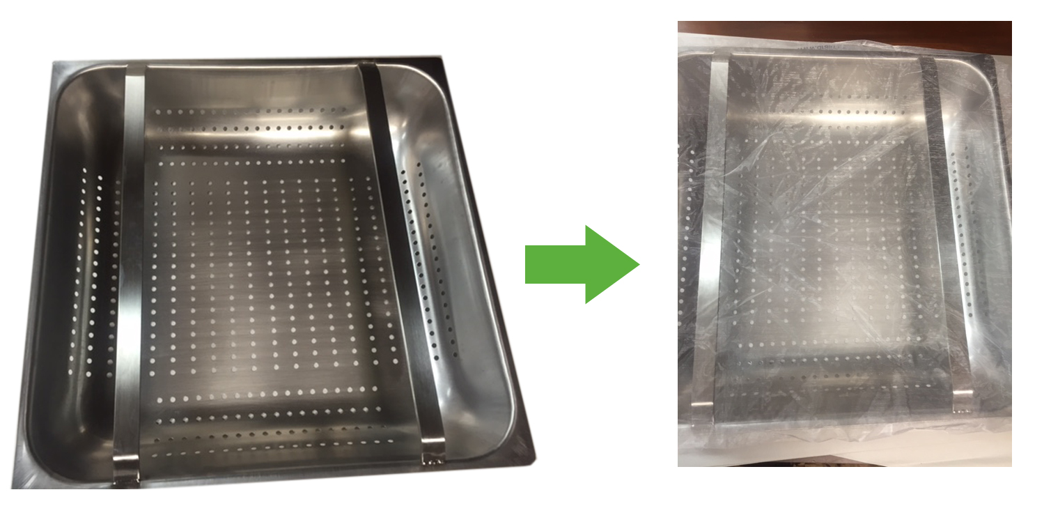 pre-rinse sink filter for restaurants
